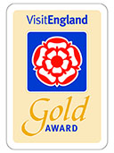 Visit England Gold Award - Manor Hall